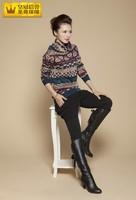 Autumn and winter women long-sleeve turtleneck sweater thickening basic shirt slim cashmere sweater female