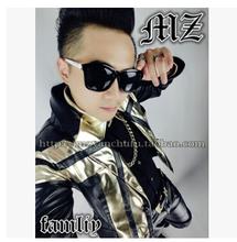 Hot Selling  New Men s Singer Costumes DJ Bigbang Rights Zhi Long GD Style Pale