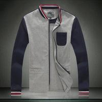 New plus size 5XL patchwork color individual casual  jackets men autumn winter spring men jackets fashion Men's Coats >Jackets