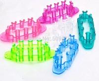 15 pcs/lot DIY Mini Loom Rubber Bands Kit Refills Novelty New Fashion Trendy Monster Tail Children Loom