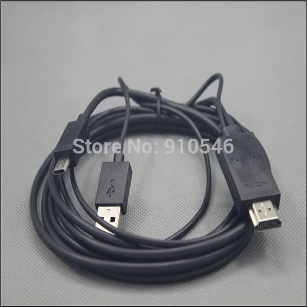 Новый 2 М Micro USB 11Pin mhl для HDMI Кабель адаптера HDTV для Samsung Galaxy S3 i9300 S4 i9500 Note 2 Примечание 3 50 шт./лот mobile phone to hdtv medialink micro usb 3 0 to hdmi mhl cable for samsung galaxy note 3 black