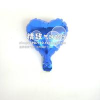 * the blue *6 inch aluminum film balloon heart love type solid aluminum foil balloons wedding venue