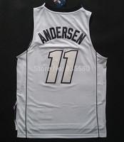 Birdman Jersey, Cheap Chris Andersen Miami 11 2013-2014 Birdman Nickname Basketball Jersey - White S-XXL Free Shipping