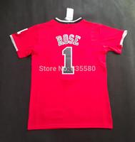 Chicago 1 Derrick Rose Jersey, Cheap Basketball Jersey Derrick Rose New Rev 30 Embroidery Logo, Mens Free Shipping