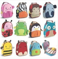 200pcs/lot Zoo Thermal Tourism Lunch Bags For Kids Children Cute Ainmal Baby Outdoor Travel Insulated Lunchbox Picnic Handbag