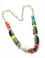 2014 Colorful Candy Color Long Necklace Fashion Necklace Summer necklace  Min $20(can mix)  Free Shipping
