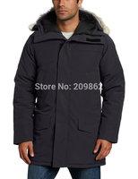 2014  free shipping Man Langford down jackets mens down parkas long