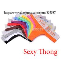 Brand Free shipping 2 pcs/lot cotton sexy women's thong underwear women G-String briefs calvin women panties & lingerie