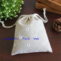 10*13cm,Drawstring Bag Gift Grocery Storage Bag Jute Bag Accessories Packaging Bag