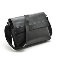 High Quality Brand Men's PU leather shoulder bag Fashion Men Messenger Bag Horizontal design Business crossbody Bags for man