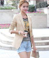 spring summer coat womens blazer branco,fashion slim one button women jackets and blazers,casacos femininos,blazer mujer