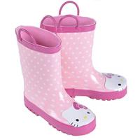 2014 new Cartoon fashion pink Princess rainboots,Princess Kids Rainboots Rubber Girl Rain Shoes Fashion Waterproof Shoes
