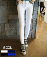 New Autumn Korean Style Fashion Women Cotton Elastic Skinny High Waist All Match Long Pencil Pants Free Shipping LJ962
