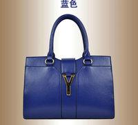 Fashion PU Women Handbag Mini Clutch Bag Wallets Women Messenger Bags Candy Color Wave Bag