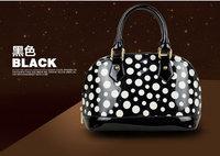 hot sale 2014 casual high quality polyester tote bag big capacity lunch handbag waterproof women handbag