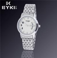 Hot Sale New Fashion EYKI Jewelry Luxury Brand Watches Calendar Men Business Casual Sports Steel Quartz Watch W8408G