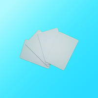 10pcs Blank white PVC inkjet id cards credit card size for Epson & Canon can print double-sided free shipping