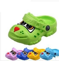 Summer children sandals dog cartoon big eyes boy slippers girl jelly shoes hole shoes