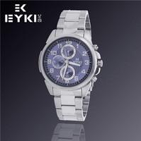 Hot Sale Fashion New EYKI Jewelry Luxury Brand Watches Men Business Casual Sports Military Analog Steel Quartz Watch W8648G