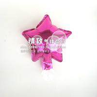 Red Star *6 inch aluminum film balloon pink star pure aluminum foil wedding venue
