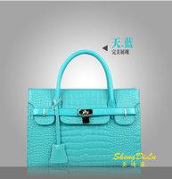 2014 new pearlite layer decorative design shoulder bag messenger bags fashion women handbags italian leather handbags