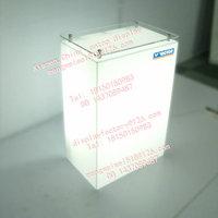 acrylic lighting box exhibition display stand