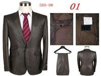 2014 Autumn New Fashion Men Dress Suits, Men's Suits With Pants Casual Men's Sportswear Men Suits Suits (Jacket + Pants)