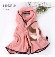 Free shipping  200*75 cms Cotton blends scarf  Fashion patchwork shawls Cheap Lace scarves  Muslim Hijab Quality Shawl
