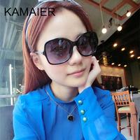 Carmine big box polarized sunglasses female sunglasses small sheepskin chain sun glasses 5210
