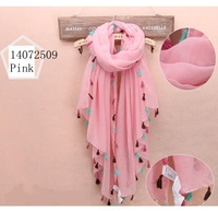 Free shipping  180*100 cms Cotton blends scarf  Fashion patchwork shawls Cheap Lace scarves  Muslim Hijab Quality Shawl