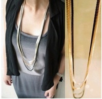 The disassemblability multi-layer necklace decoration necklace fashion accessories long design gualian female accessories