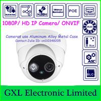 GXL,2 Megapixel HD IP Camera,H.264 10800P IR,1 EPLED,Night Vision,Outdoor Waterproof,Dome Security Camera,CS71080ID-WL-I1H