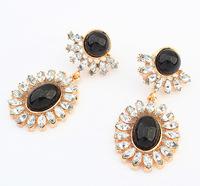 Neon Shine Earrings Iconic Faux Stone Teardrop Earrings Statement Earrings Fashion Jewelry Wholesale cxt908952