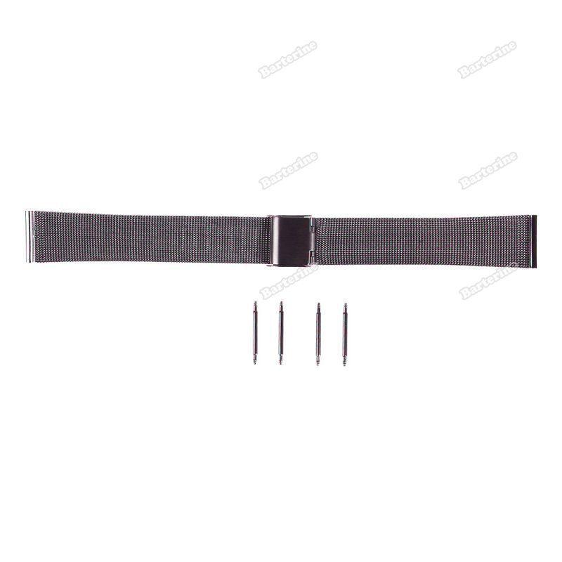 smartgood New Stainless Steel Watch malha Pulseiras Strap Perfeito Artesanato Banda [ 22MM ] [ Economize até 50% ](China (Mainland))