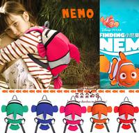 Kindergarten school bag male child nemo bag female burdens backpack  Free Shipping child gift