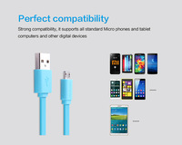 Nillkin 1.2m 2A Faster Micro USB Data Charger Cable for Android Samsung Galaxy s3 s4 HTC 2A Huawei P7 Lenovo Mobile Phone Cables