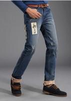 [1843] Famous Brand Jeans 2014 Designer Jeans Male Hip Hop Jeans Pant Men's pants Fast Shipping Size 28-38