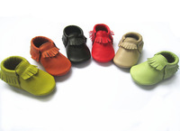 cheaper 20 pairs /lot -pink color baby moccasin shoes