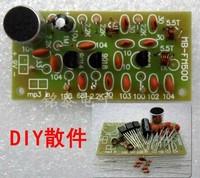 Electronic 2014 new Wireless microphone FM radio transmitter bug Electronic kit DIY
