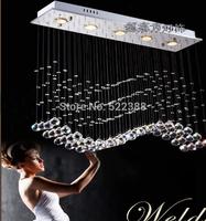 Rectangle Modern Lustre Crystal Chandelier Lamps Lustres Home Decoration Chandeliers Lamp Candelabro Lustres De Cristal Lighting