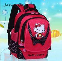 New 2014 design cartoon lovely cat child backpack kids backpacks school cute school bags for little boys girls kids gift z2434