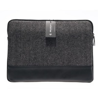"Wholesale Price For Macbook Pro 11.6"" 13.3""Sleeve Genuine Leather Black Laptop Computer Sleeve Free Shipping"