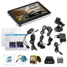 7″ Car GPS Navigation Bluetooth AV-IN + Wireless Reverse Camera + Map