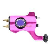 attoo Machine Gun  Alloy Rotary MotorRotary gun for Liner Shader Rose Red  Free shippingBrand New