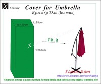 Garden Umbrellas cover,water proofed cover,dust proofed cover,furniture cover,Free shipping