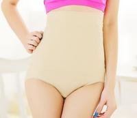 2014 women high waist slimming pants shaping  panties waist cincher seamless fashion women's underwear body shaper
