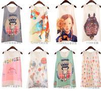 2014 Women Chiffon Sleeveless Blouse Shirt Fashion Vest Cheap Clothing woman t shirt
