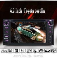 6.2inch Car DVD Player forToyota VIZI/Rush/Tundra/Celica/Limo/RAV4/Corolla +Digital TV ISDB-T+IPOD+AUX+Radio+GPS Navigation