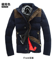 winter rlx men's parkas with duck down feather outdoors coat male outdoor casual medium-long down jacket ski suit thickening