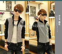 2014 New Big Sale Men Causal Jakcet Men Preppy Jacket for men Cotton Fashion Jacket High Quality Free Shipping